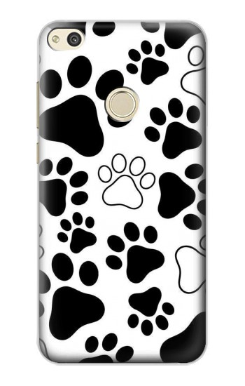 Huawei P8 Lite (2017) Dog Paw Prints Case Cover