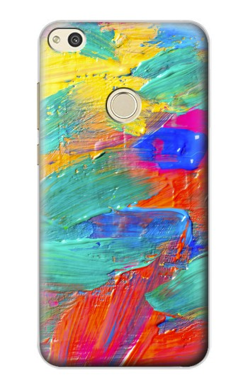 Printed Brush Stroke Painting alcatel Idol 2 Case