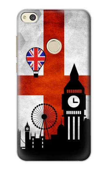 Printed England Football Flag alcatel Idol 2 Case