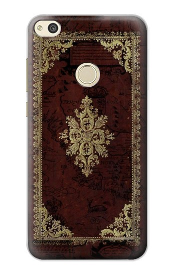 Printed Vintage Map Book Cover alcatel Idol 2 Case