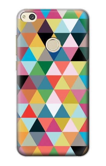 Printed Triangles Vibrant Colors alcatel Idol 2 Case