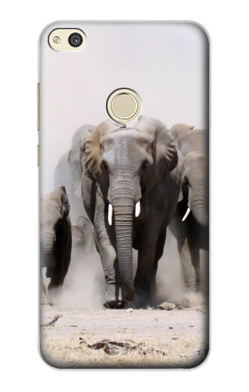 Printed African Elephant alcatel Idol 2 Case