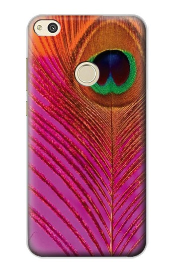 Printed Pink Peacock Feather alcatel Idol 2 Case