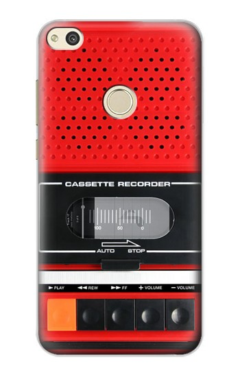 Printed Red Cassette Recorder Graphic alcatel Idol 2 Case