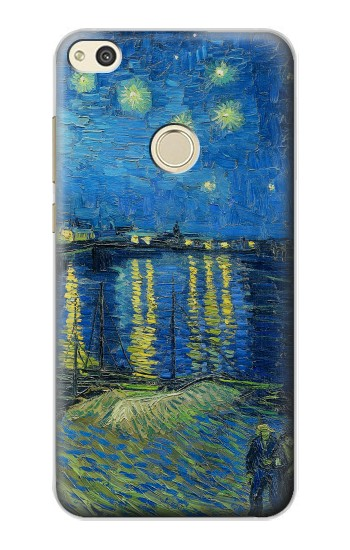 Printed Van Gogh Starry Night Over Rhone alcatel Idol 2 Case
