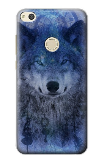Printed Wolf Dream Catcher alcatel Idol 2 Case