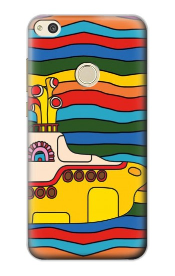 Printed Hippie Yellow Submarine alcatel Idol 2 Case