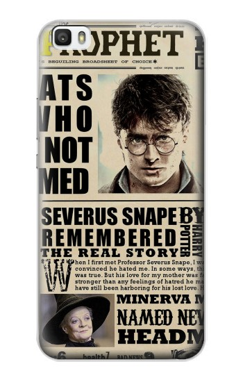 Printed Harry Potter Daily Prophet Huawei P8lite Case