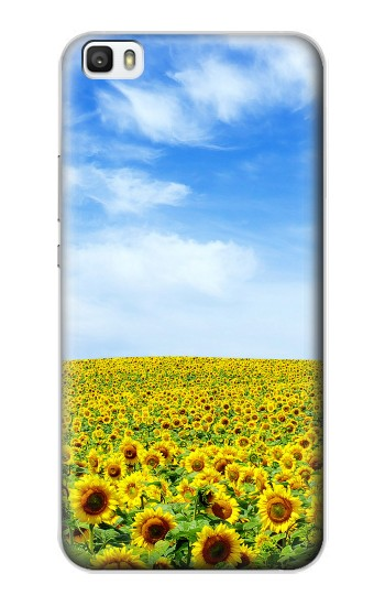 Printed Sunflower Huawei P8lite Case