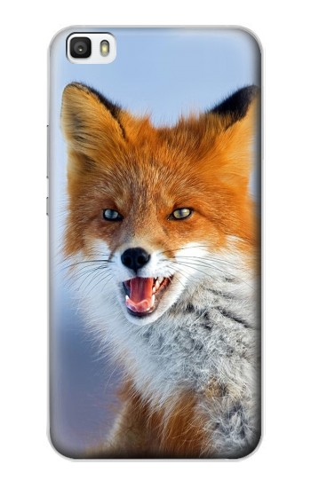 Printed Fox Huawei P8lite Case