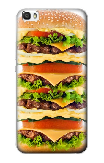 Printed Hamburger Huawei P8lite Case