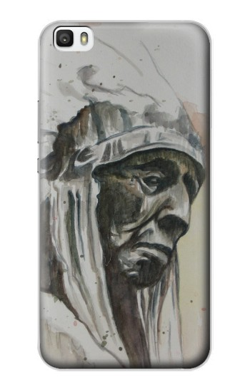 Printed Indian Chief Huawei P8lite Case