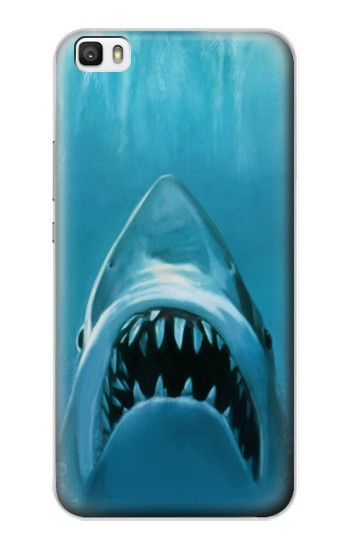 Printed White Shark Huawei P8lite Case