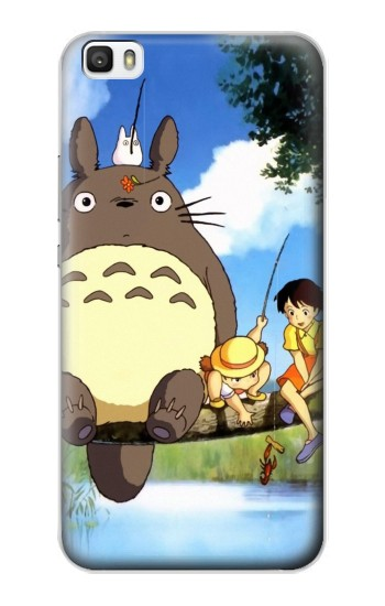 Printed Totoro and Friends Huawei P8lite Case