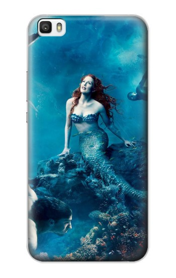 Printed Mermaid Huawei P8lite Case