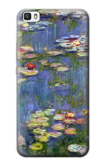 Printed Claude Monet Water Lilies Huawei P8lite Case