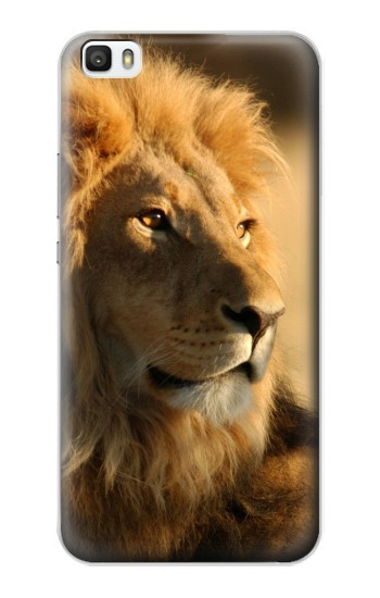 Printed Lion King of Forest Huawei P8lite Case