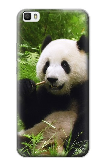 Printed Panda Enjoy Eating Huawei P8lite Case