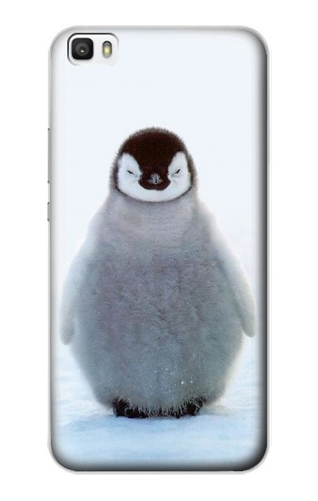Printed Penguin Ice Huawei P8lite Case