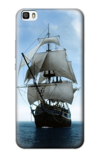 Printed Sailing Ship in an Ocean Huawei P8lite Case