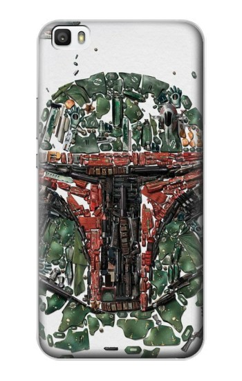 Printed Star War Soldier Huawei P8lite Case