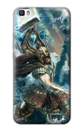 Printed Thor Viking God Huawei P8lite Case