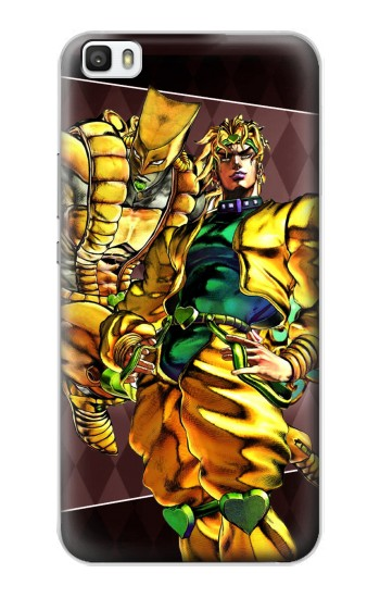 Printed Jojo Bizarre Adventure Dio Brando The World Huawei P8lite Case