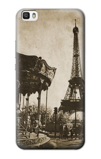 Printed Eiffel Tower Vintage Paris Huawei P8lite Case