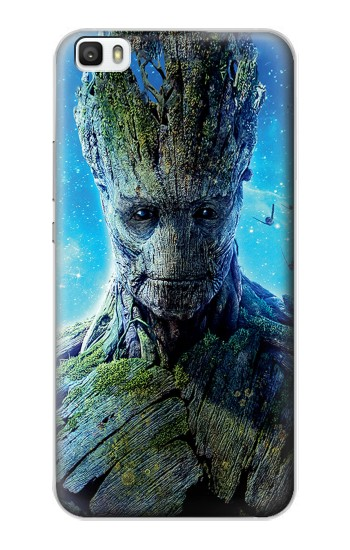 Printed Groot Guardians of the Galaxy Huawei P8lite Case