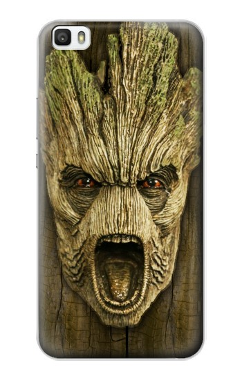 Printed Guardians of the Galaxy Groot Head Huawei P8lite Case