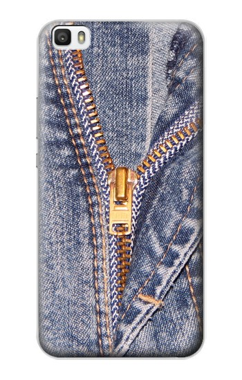 Printed Jeans Zip Graphic Printed Huawei P8lite Case