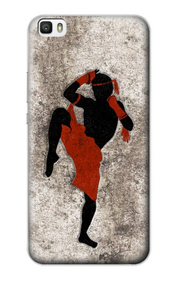 Printed Muay Thai Fight Boxing Huawei P8lite Case