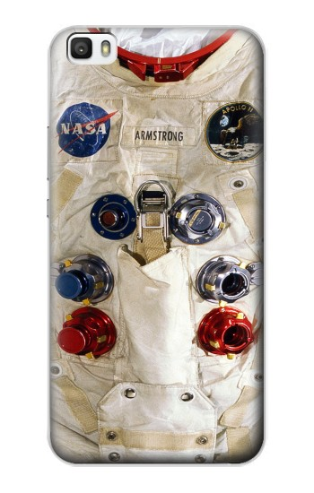 Printed Neil Armstrong White Astronaut Spacesuit Huawei P8lite Case