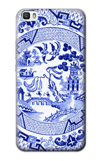 Printed Willow Pattern Illustration Huawei P8lite Case