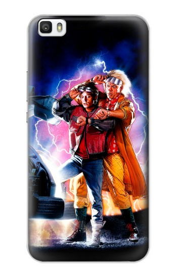 Printed Back to the Future Huawei P8lite Case