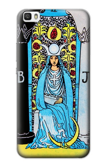 Printed The High Priestess Vintage Tarot Card Huawei P8lite Case