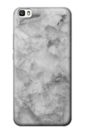Printed Gray Marble Texture Huawei P8lite Case
