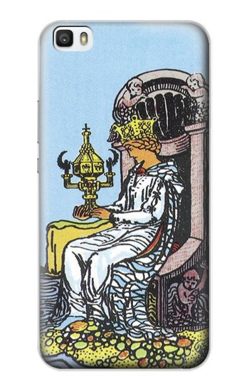 Printed Tarot Card Queen of Cups Huawei P8lite Case