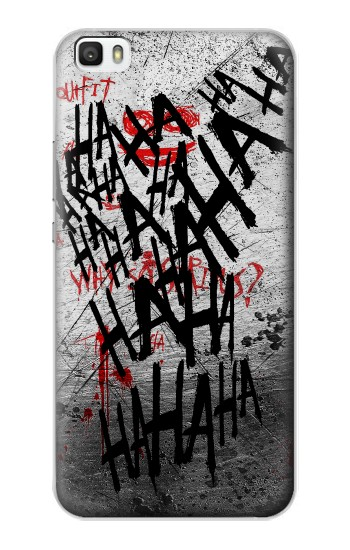 Printed Joker Hahaha Blood Splash Huawei P8lite Case