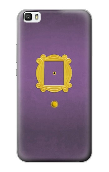 Printed Friends Purple Door Minimalist Huawei P8lite Case