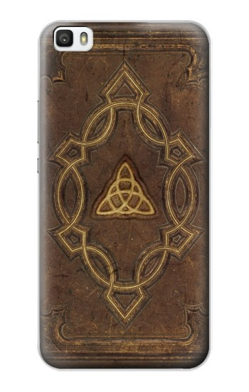 Printed Spell Book Cover Huawei P8lite Case