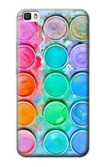 Printed Watercolor Mixing Huawei P8lite Case