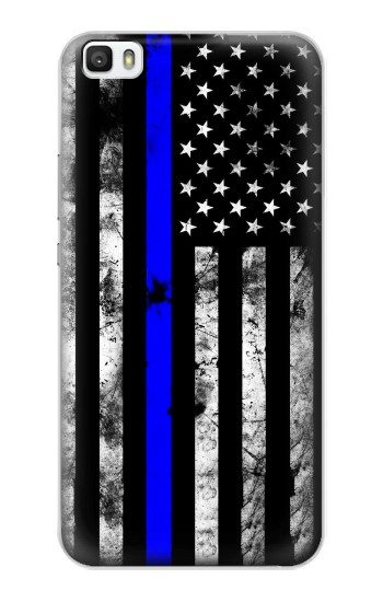 Printed Thin Blue Line USA Huawei P8lite Case