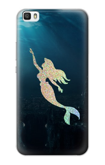 Printed Mermaid Undersea Huawei P8lite Case