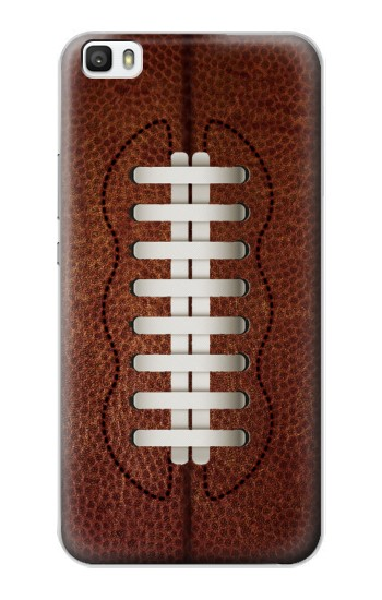 Printed Leather Vintage Football Huawei P8lite Case