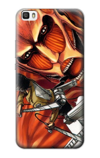 Printed Attack on Titan Huawei P8max Case