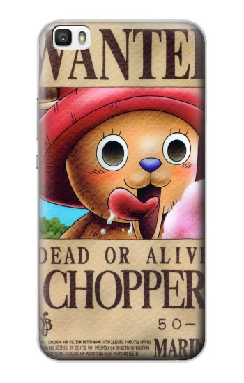 Printed One Piece CHOPPER Wanted Poster Huawei P8max Case
