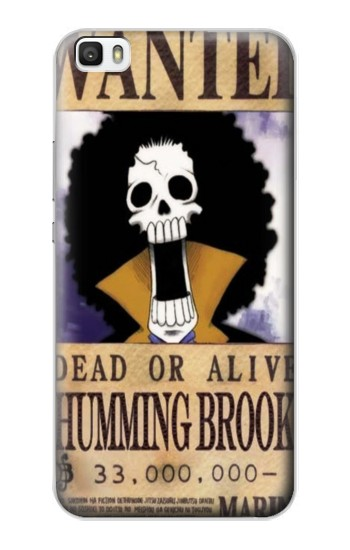 Printed One Piece Humming Brook Wanted Poster Huawei P8max Case