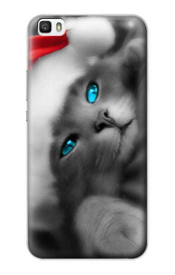 Printed Cute Cat Kitty Xmas Huawei P8max Case