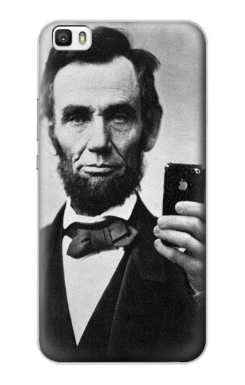 Printed Abraham Lincoln Huawei P8max Case